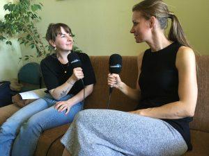Isabel Woop und Isabell Winkler im Gespräch für den TUCscicast