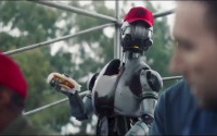 Roboter-Bilder in Super Bowl LIII Commercials